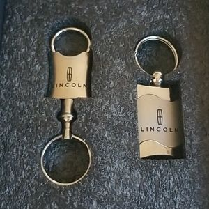 Lincoln Keychains nwt
